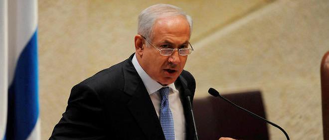 """Netanyahu propose une initiative différente qui """"pourrait se tenir à Paris, ce serait un endroit merveilleux pour signer un accord de paix"""", a-t-il affirmé."""