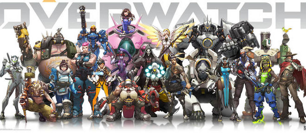 Le casting des héros du jeu Overwatch, le dernier né des créateurs de World of Warcraft
