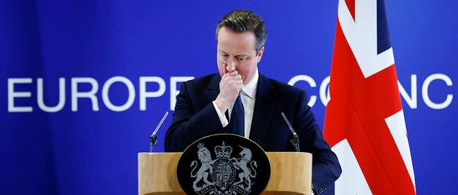 Le Premier ministre David Cameron s'est engagé dans une campagne contre le Brexit. Un grand écart idéologique...
