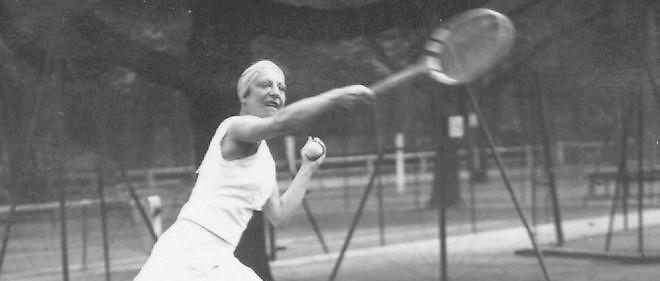 Suzanne Lenglen est sans conteste la meilleure joueuse de tennis, toutes époques confondues (AFP PHOTO / CORR).