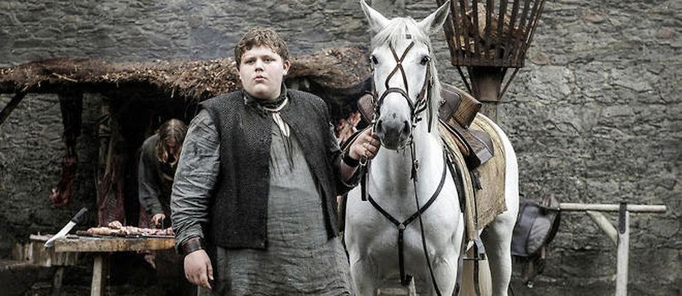 """Hodor, le compagnon de Bran version jeune, dans """"Game of Thrones""""."""