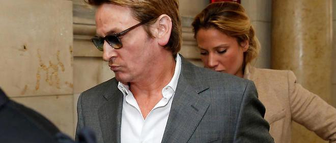 Benoît Magimal au tribunal de Paris en avril 2016. Image d'illustration.