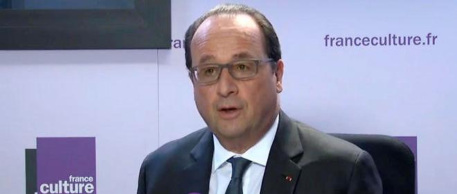François Hollande a répondu aux questions de France Culture.