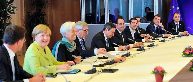 C'est un bras de fer qui se joue ce mercredi entre le ministre des Finances d'Angela Merkel,Wolfgang Schäuble, et la Française Christine Lagarde.