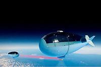Le Stratobus devrait décoller en 2020. ©Dan Barnes
