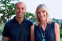 Stephane Diagana et son épouse ©François-Xavier Laurent