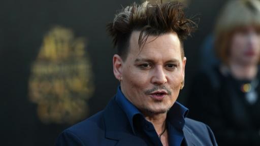 L'acteur américain Johnny Depp, le 23 mai à Los Angeles © Robyn BECK AFP