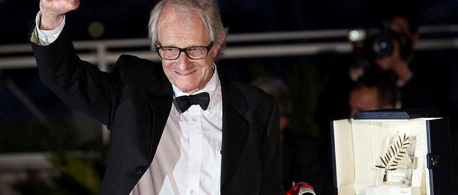Ken Loach a reçu la Palme d'or à Cannes.