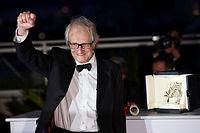 Ken Loach a reçu la Palme d'or à Cannes. ©Jin Yu/XINHUA-REA
