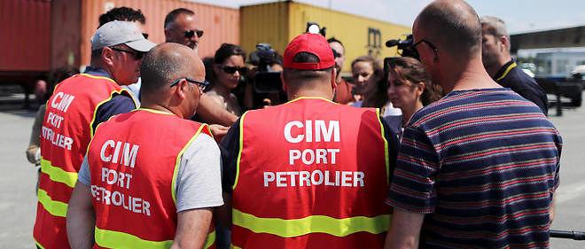La Compagnie industrielle maritime a voté la poursuite de la grève pour 72 heures ce vendredi. La société est d'un  «intérêt vital», a souligné la préfecture.