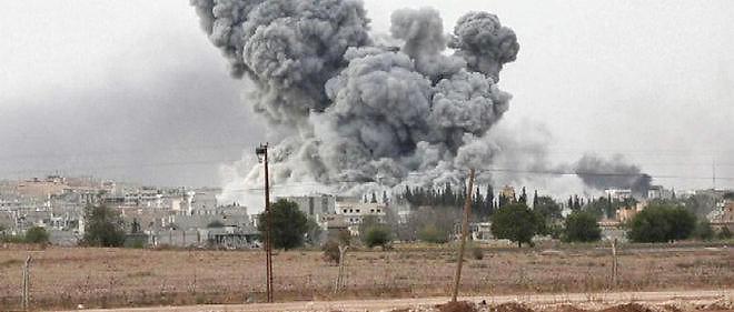 150 raids ont été menés en l'espace de trois jours dans la province de Raqqa.