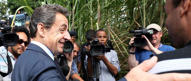 Nicolas Sarkozy en visite à La Réunion