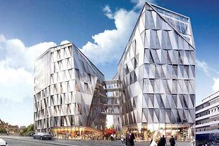 Investissement. La SCPI PFO a fait l'acquisition de l'ensemble Urban Quartz, compose de trois immeubles de bureaux, a Rennes. (C)Renaud Anney