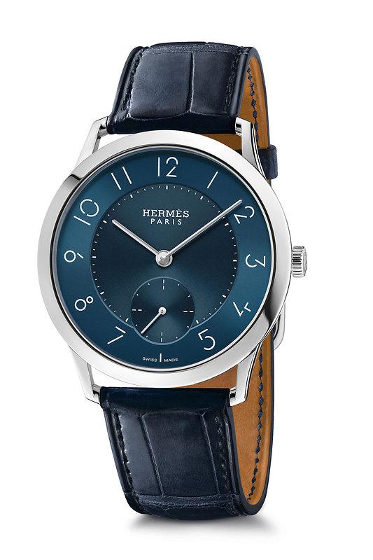 Slim d'Hermès 39.5 Slim d'Hermès slim_39_blue_dial