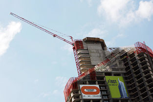 Un chantier à La Défense à Paris (image d'illustration). ©LOIC VENANCE