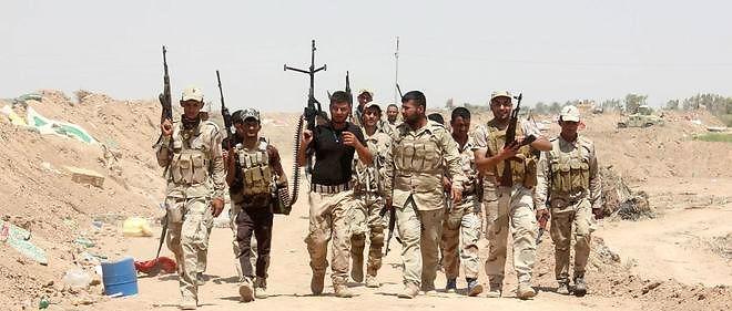 Les combattants irakiens volontaires pour affronter l'État islamique.