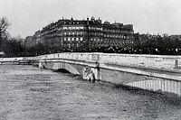 Le 28 janvier 1910, la Seine atteint la cote incroyable de 8,62 m. ©PHOTO