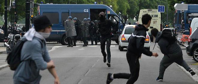 Dans de nombreuses villes de France, les manifestants contre la loi travail ont affronté les forces de l'ordre, comme ici à Nantes le 12 mai 2016. Image d'illustration.
