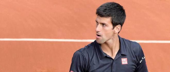 Novak Djokovic a perdu deux fois son service. Photo d'illustration