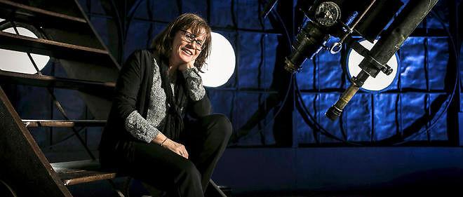 Extrasolaire. Anne-Marie Lagrange, directrice de recherche à l'Institut de planétologie et d'astrophysique de Grenoble, le 6 avril à l'Observatoire de Paris.