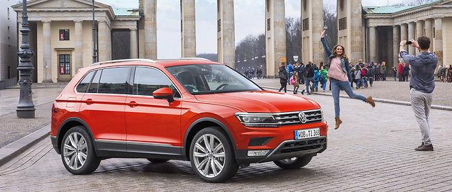 Habitable et modulable, le nouveau VW Tiguan se montre tout à fait adapté à une utilisation familiale.