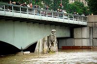 La statue du zouave du pont de l'Alma, photographiée mercredi 2 juin. ©BERTRAND GUAY