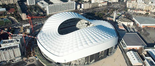 Vue aérienne du stade Vélodrome à Marseille. (Photo d'illustration)