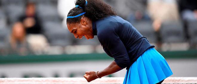 La numéro 1 mondiale Serena Williams qualifiée pour la finale de Roland-Garros.