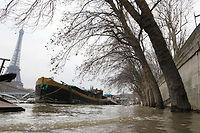 Une montée des eaux de 8 mètres pourrait provoquer pour 30 milliards d'euros de dégâts. ©Pierre Verdy