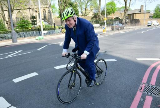 L'ancien maire de Londres Boris Johnson le 9 mai 2016 à Londres © LEON NEAL AFP/Archives