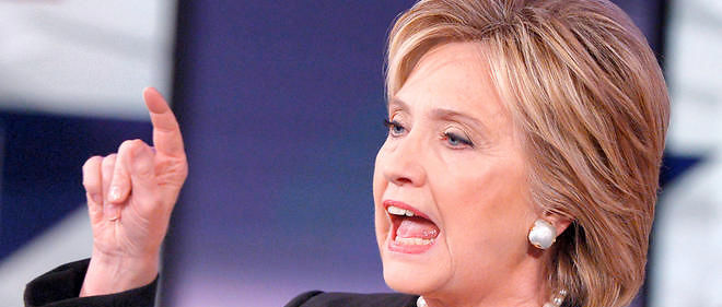 Hillary Clinton lors d'un meeting de campagne dans l'Iowa en novembre 2015 (image d'illustration).