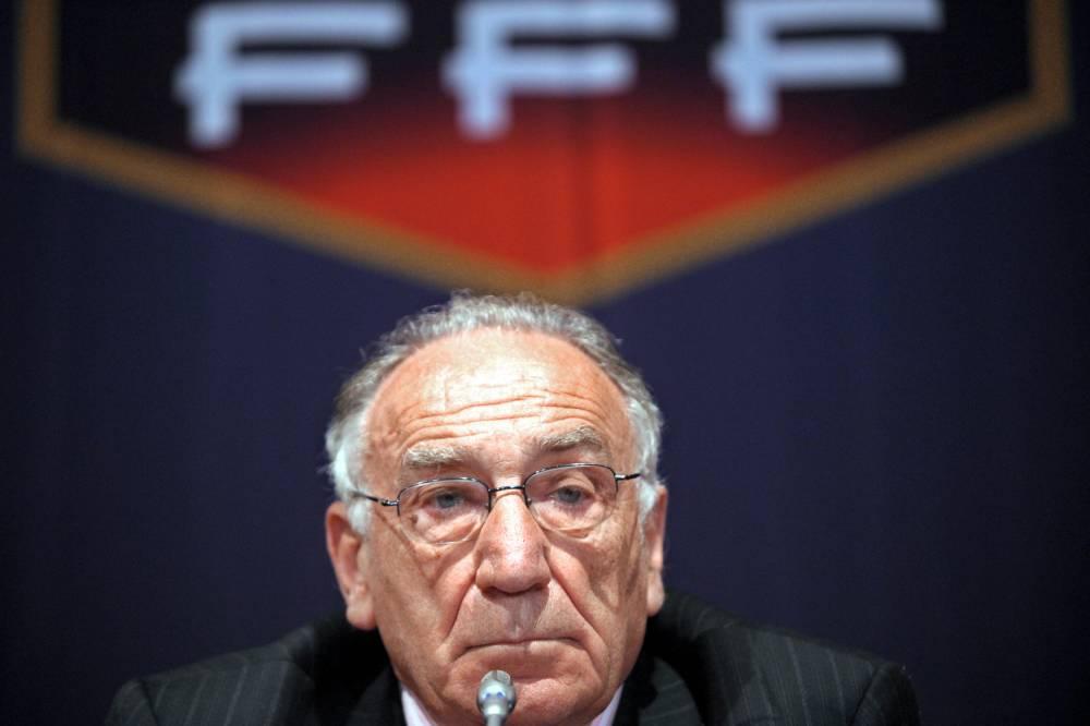 L'ancien président de la FFF Jean-Pierre Escalettes © MARTIN BUREAU AFP