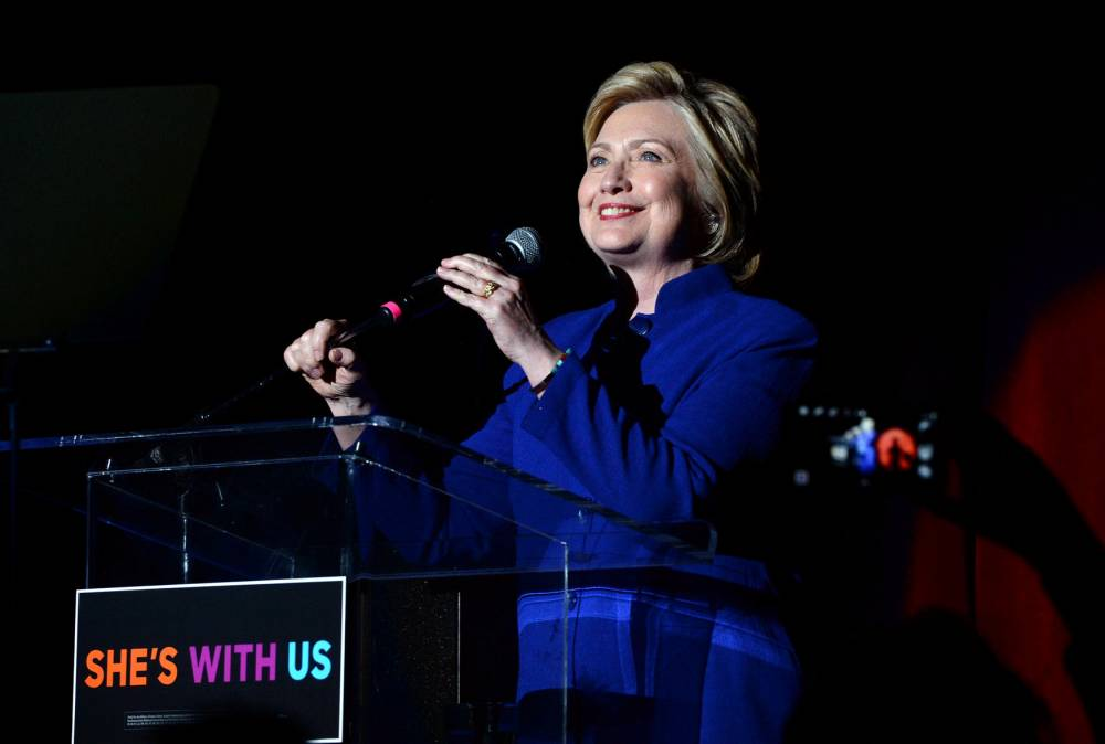US-HILLARY-CLINTON:-SHE'S-WITH-US © KEVIN WINTER Getty Images/AFP