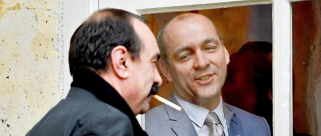 Frères ennemis. Laurent Berger (à droite), secrétaire général de la CFDT, et Philippe Martinez (à gauche), son homologue de la CGT, à Matignon le 25 février 2015.