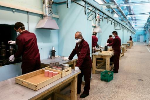 Fabrication de municiations à l'usine VMZ Sopot à Iganovo, en Bulgarie, le 17 mai 2016  © DIMITAR DILKOFF AFP