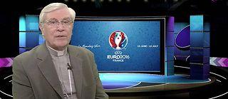 Monseigneur di Falco, évêque de Gap et d'Embrun, s'intéresse à l'Euro 2016 et se demande si nous sommes capables de vivre en accord avec nos futurs adversaires. ©LePoint.fr