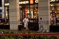 L'attentat à l'arme à feu a fait4 morts et 5 blessés dans un centre commercial de Tel-Aviv. ©Gili Yaari