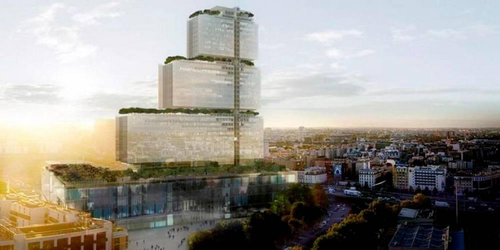 Le nouveau Tribunal de Paris, aux Batignolles ©  Labtop et Lansac