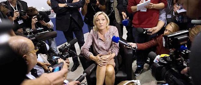 Le Front national de Marine Le Pen est-il boudé par les médias ?