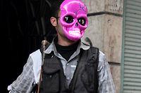 Un djihadiste du front Al-Nosra, pris en photo à Alep, en Syrie, le 1er avril 2013 (Photo d'illustration). ©CITIZENSIDE/GUILLAUME BRIQUET