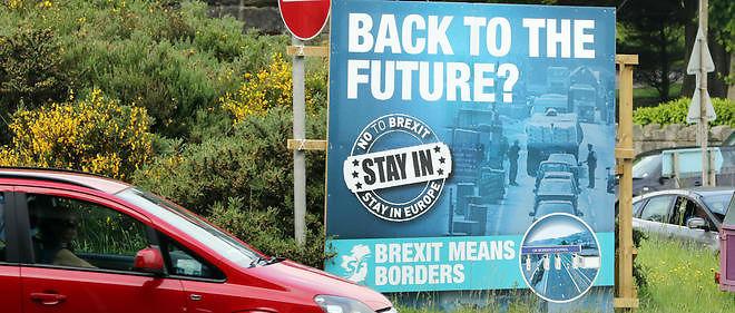 Une affiche anti-Brexit pour tenter de convaincre les Anglais de demeurer dans l'Union européenne.