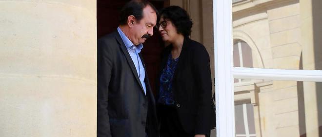 La ministre a assuré qu'elle regarderait les propositions de la CGT tout en annonçant que la négociation n'était pas ouverte.