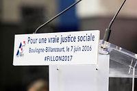 François Fillon a fait de la «justice sociale» un de ces sujets de prédilection. ©GEOFFROY VAN DER HASSELT