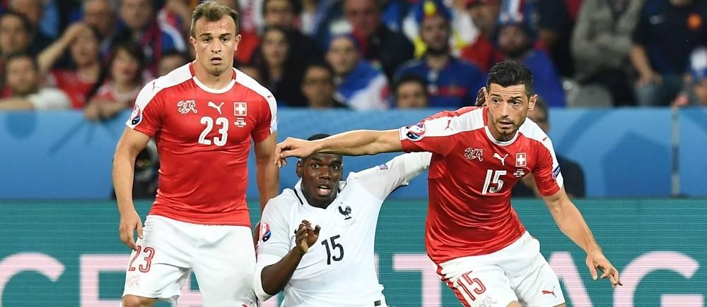 Paul Pogba et les Bleus ont obtenu le nul (0-0) face à la Suisse.