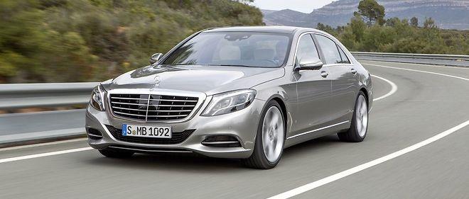 C'est sous le capot de la version restylée de l'actuelle Classe S attendue pour l'année prochaine que devrait débuter le nouveau 6 cylindres en ligne Mercedes.