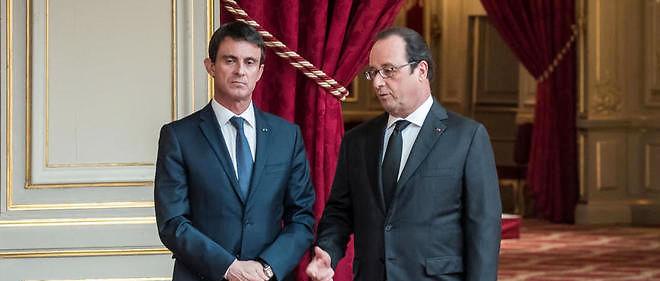 Manuel Valls et François Hollande se retrouvent à leur plus bas niveau depuis leur entrée en fonction.