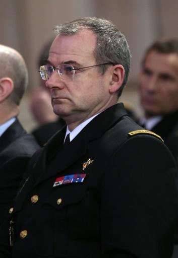 Le général Richard Lizurey, actuel major général, à Paris le 18 janvier 2013 © JACQUES DEMARTHON AFP/Archives
