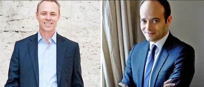 Émile Servan-Schreiber (à gauche) estavec Matthieu Laine à la tête d'Hypermind, société de marchés prédictifs.