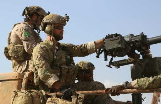 Des forces anti-jihadistes mènent une opération contre le groupe État islamique dans la province syrienne de Raqa, le 25 mai 2016 © DELIL SOULEIMAN AFP/Archives