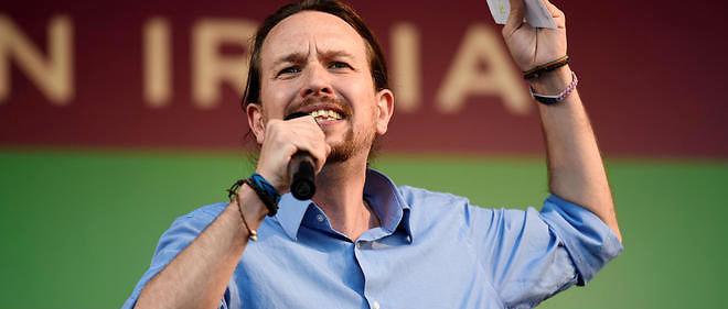Pablo Iglesias représente Unidos Podemos, la coalition de gauche qui rassemble les mouvements Podemos et Izquierda Unida.